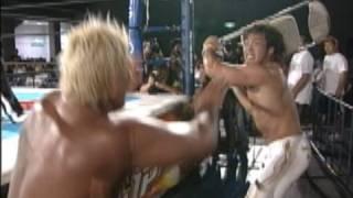 2007年8月6日 ツインメッセ静岡 棚橋弘至vs 矢野通 G1 CLIMAX 2007.