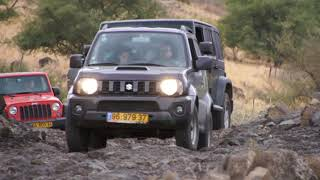 Wrangler, Jimny, Land Cruiser and more on Stones and Mud