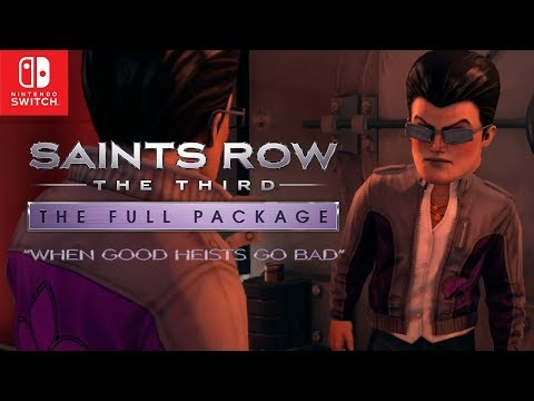 Saints Row®: The Third™ Memorable Moments - When Good Heists Go Bad (Official)