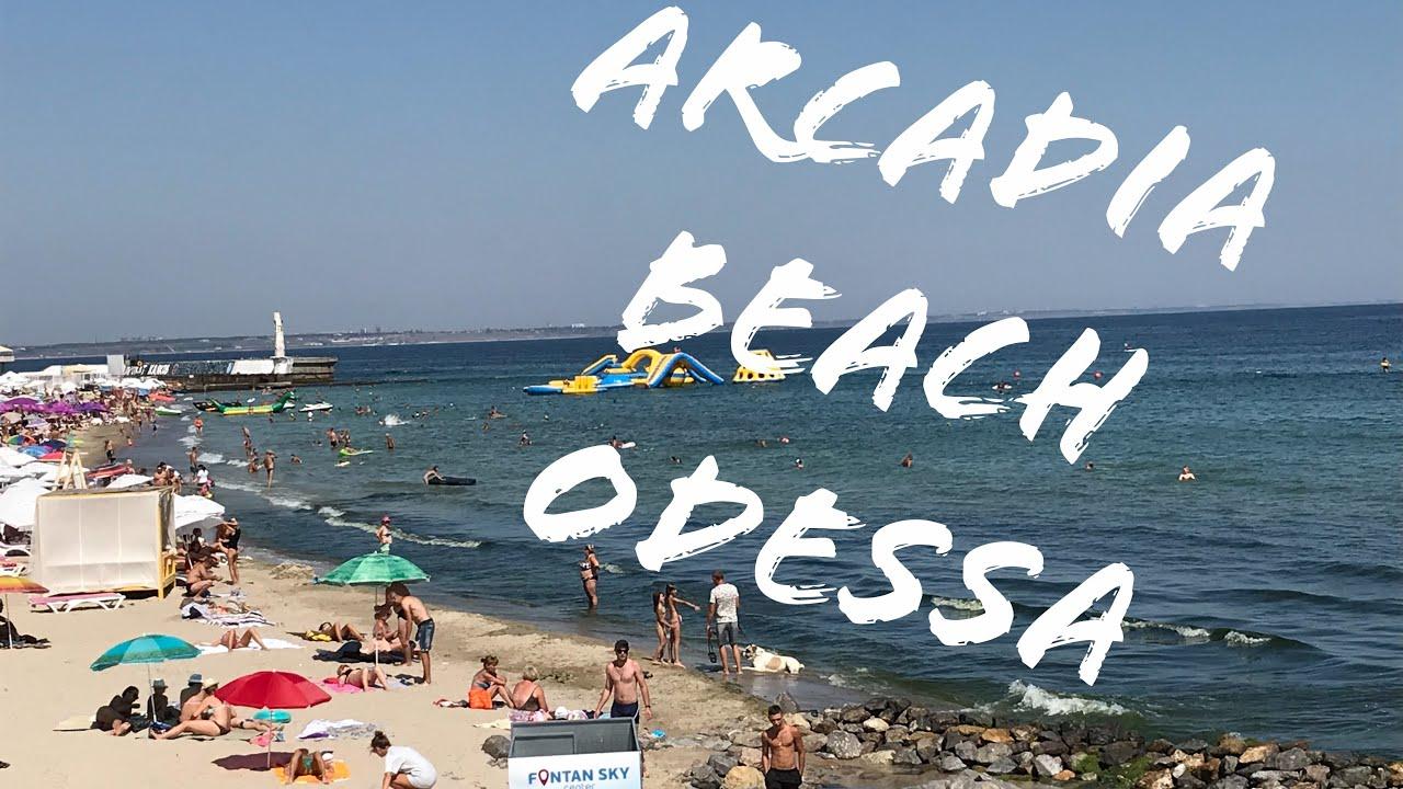 NIGHTLIFE IN ODESSA and a little bit of Arcadia BEACH in Ukraine