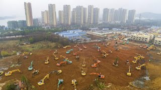شیوع ویروس کرونا؛ چین طی ۱۰ روز یک بیمارستان هزار تختخوابی میسازد…