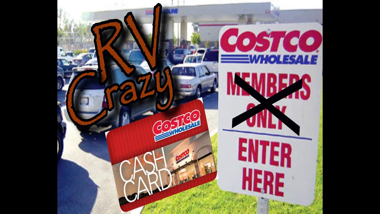 Buying gas at Costco without a membership card - YouTube