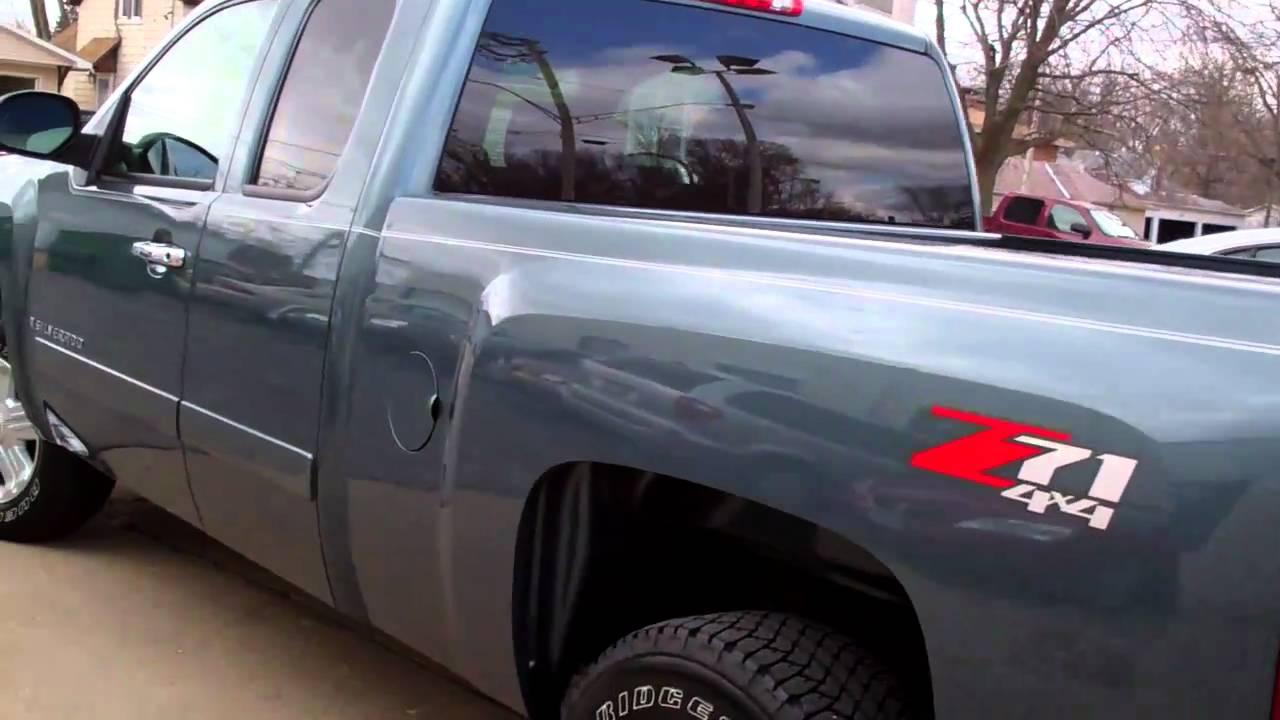 2008 Chevrolet Silverado Lt 4 Door Ext Cab 4x4 Truck Dekalb Il Near Elgin