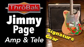 Jimmy Page Dragon Telecaster and Sundragon Amp: NAMM 2019