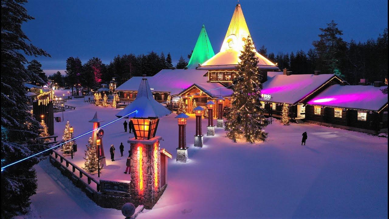 village du père noel finlande