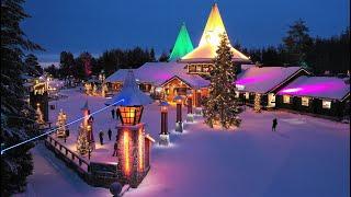 Village du Père Noël en Laponie et message du Papa Noël Rovaniemi Finlande Pôle Nord Cercle Polaire
