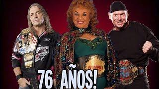 10 Campeones mas Viejos en la Historia de WWE