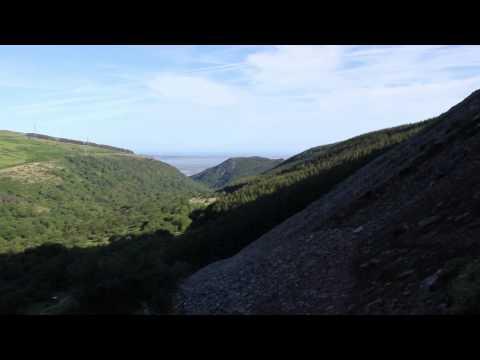 Tryfan to Aber Falls, Snowdonia