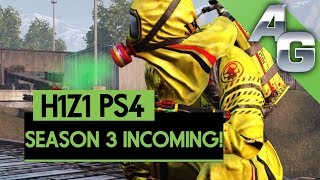 H1Z1 PS4 SEASON 3 INCOMING! | H1Z1 PLAYSTATION 4 SEASON 3 TRAILER W/ NEW DETAILS!