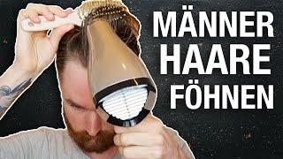 Haare Föhnen oder auch Deine Frisur entsteht vor dem Wax