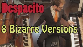 Despacito 8 Piano Versions