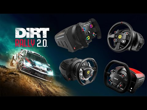 Thrustmaster Best Wheel And Force Feedback Settings Dirt Rally 2.0 TS-PC Racer TX-XW T300 T500