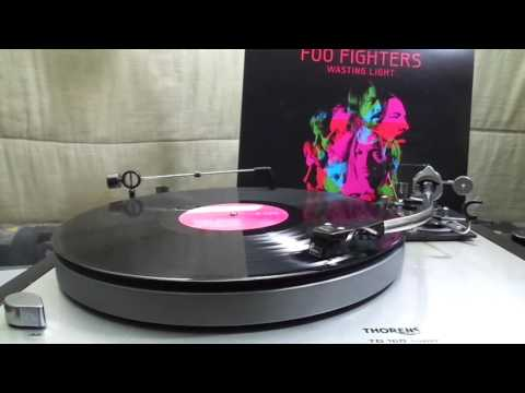 Foo Fighters  White Limo  45rpm Vinyl  Thorens TD 160 Super  AT440MLa