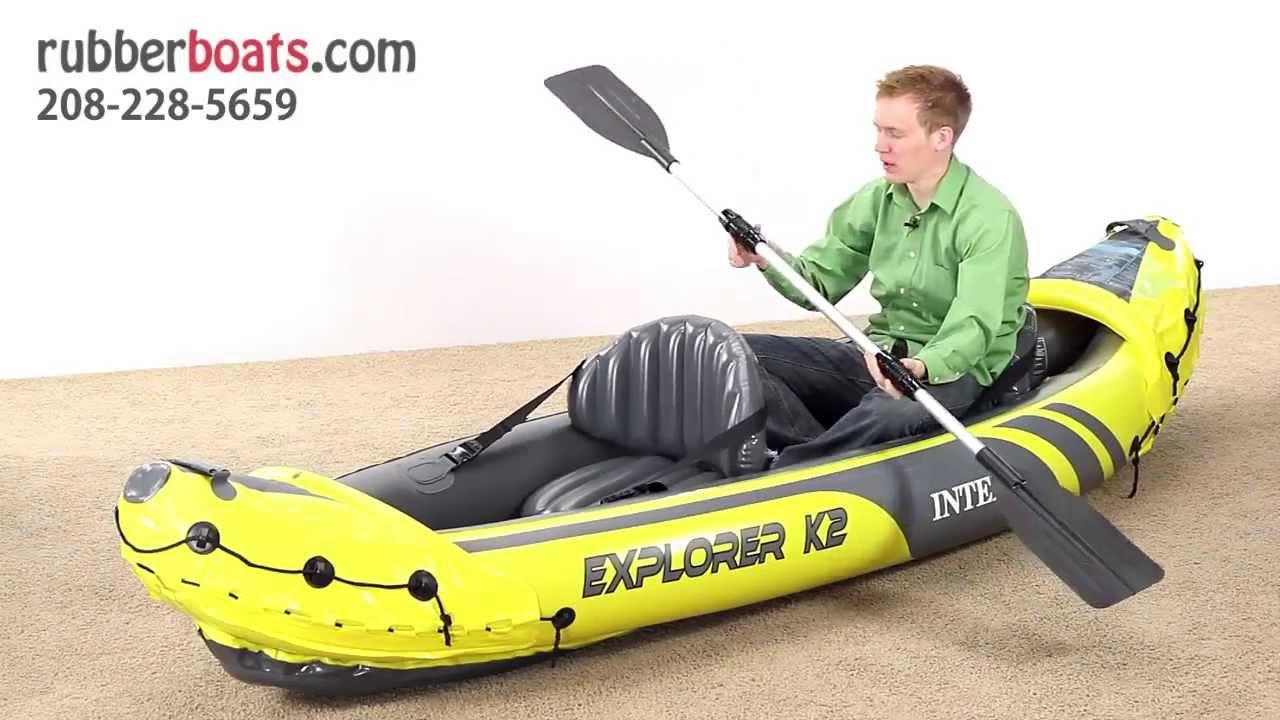 лодка каяк двухместный