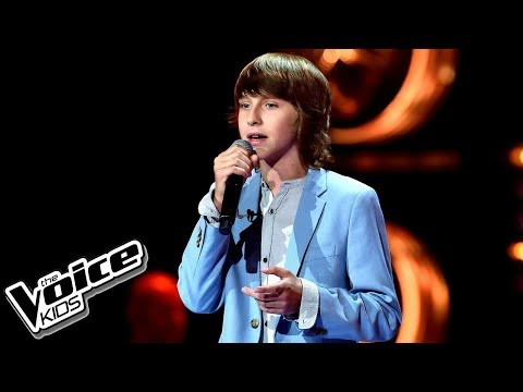 "Wiktor Chmiel – ""Troublemaker"" – Przesłuchania w ciemno – The Voice Kids Poland"