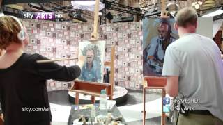 John Hannah - Portrait Artist of the Year competition