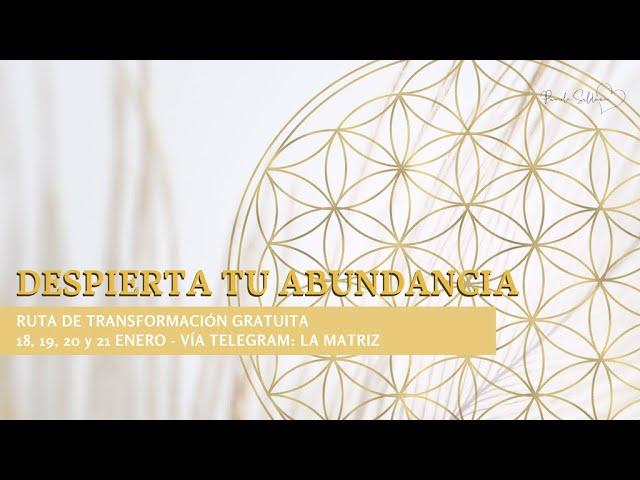 Bienvenida a la Ruta de Transformación para Despertar tu abundancia