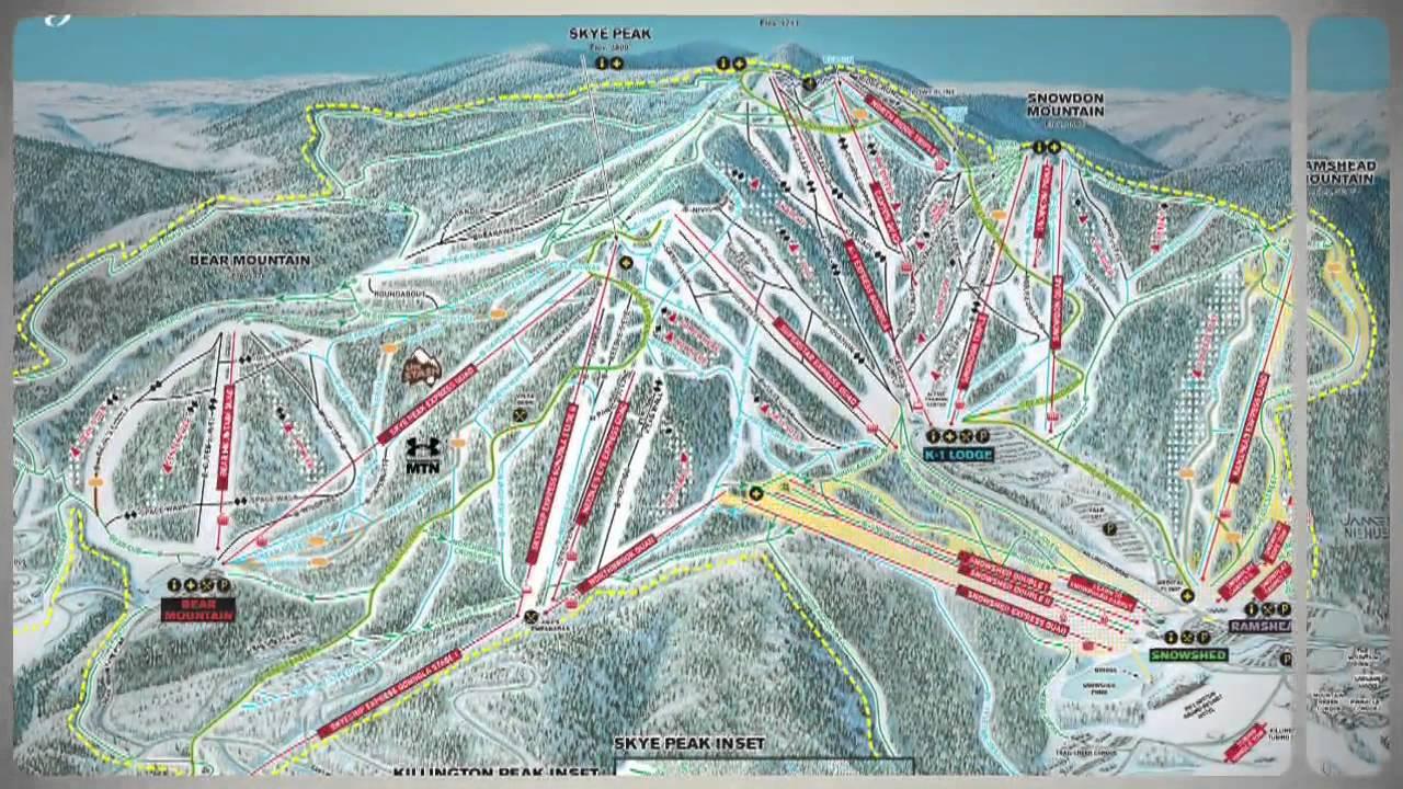 Killington Vermont Ski Resort Video Preview Youtube