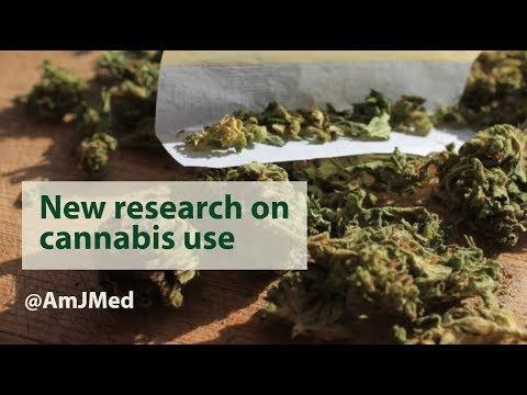 New Research On Cannabis Use In #AmJMed