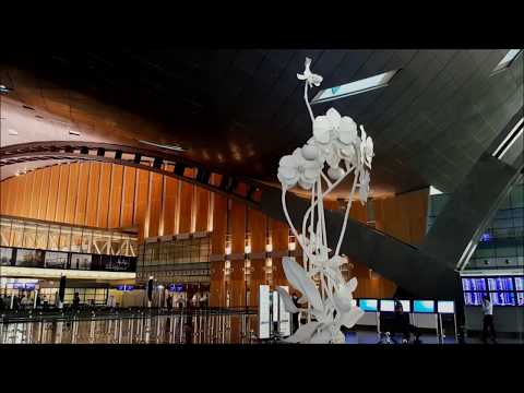 Beautiful Hamad International Airport - Doha, Qatar Full Tour