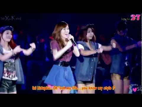 MY LIFESTYLE - Mr X-Katrok & Jessica Jung Ft Dok2 Indonesian K-Pop Cover MV Live 3