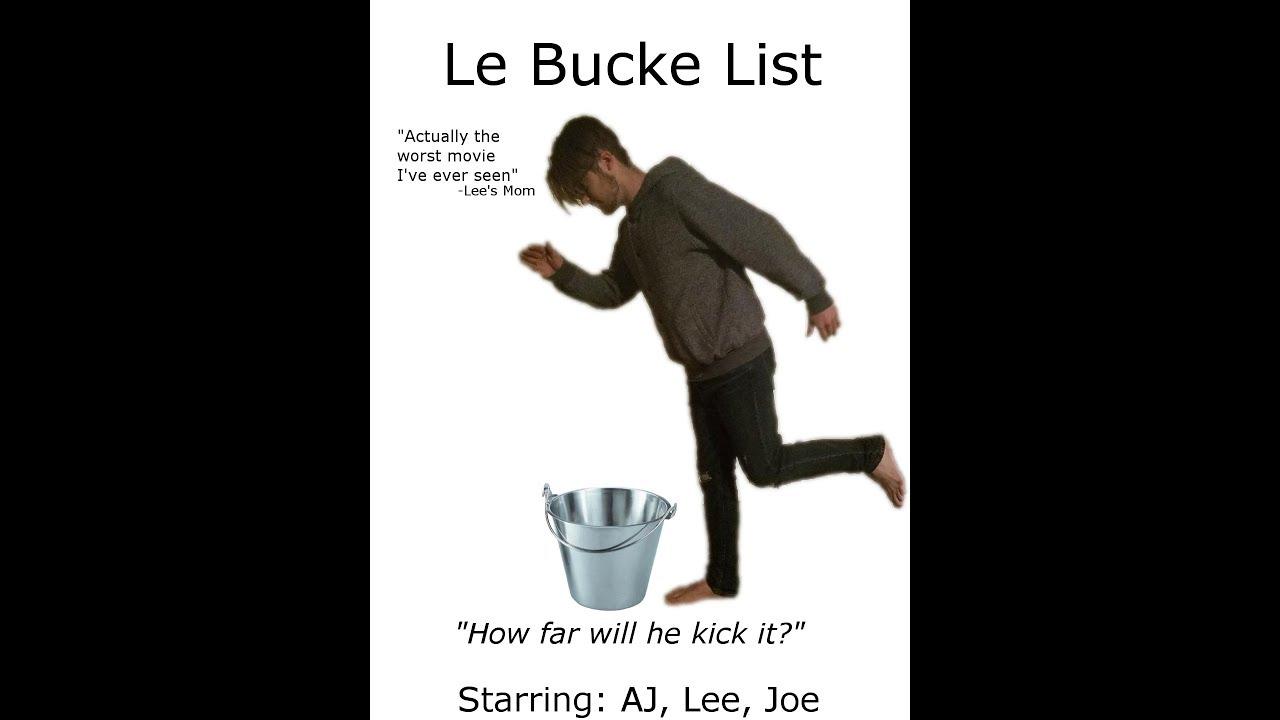 Le 🅱ucke List (Film Lit Final Project)
