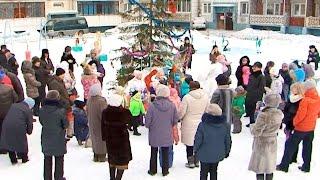 Зимний городок своими руками