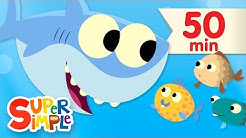 10 Little Fishies   + More Kids Songs   Super Simple Songs