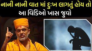 નાની નાની વાત માં દુઃખ લાગતું હોય તો આ વિડિઓ ખાસ જુવો By Gyanvatsal Swami