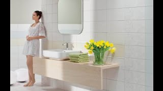 видео Панно из керамической плитки для ванной комнаты, фото мозаики