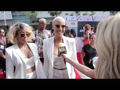 Amber Rose, Karrueche Tran, Blac Chyna : BET Awards 2015 Red Carpet Fun Fashion thumbnail