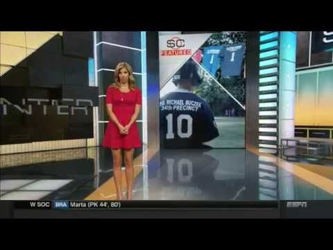 Sara Walsh in the Shortest Dress (plus Dianna Russini & Linda Cohn) | ESPN