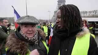 Gilets jaunes : manifestation des femmes (20 janvier 2019, Paris)