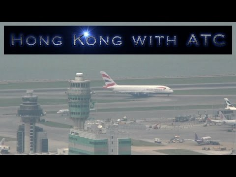 Hong Kong Airport Plane Spotting Location with VHHH ATC