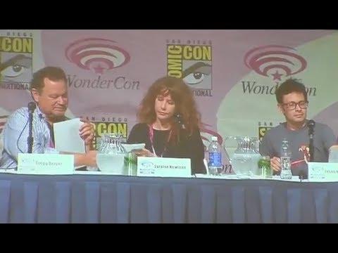 Wondercon 2013 Voice Actor Panel Gregg Berger, Jason Marsden, and Neil Kaplan read Cinderella panel1