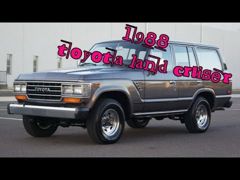 1988 toyota land cruiser 4x4 with manual front hub locks J60 FJ60 SUV