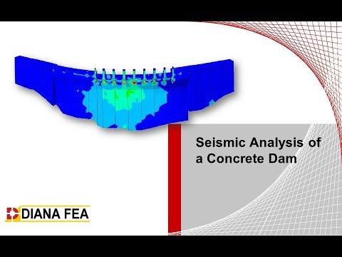 Seismic Analysis of a Concrete Dam