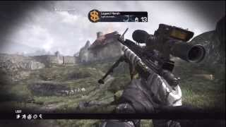 AMAZING COD GHOSTS DISTANT WALLBANG!