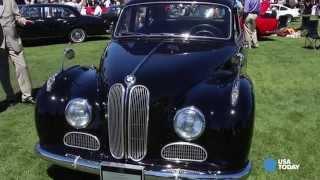 1956 BMW 501 has a V-8