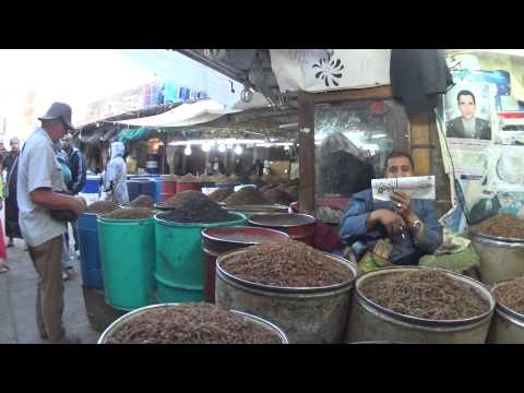 Souk of Sanaa Raisin market by yemeninteractive.com