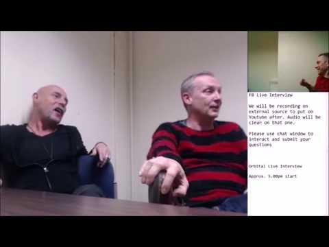 Orbital Facebook Live Interview (02 Dec 2017) - London Hammersmith - hosted by Steve Price (Loopz)