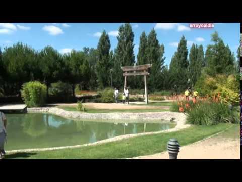 Paseo por la ribera de arroyo de la encomienda youtube for Casas en arroyo de la encomienda