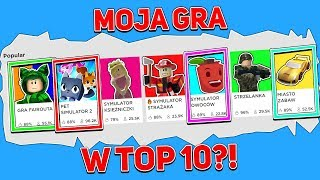 MY NEW GAME ON ROBLOX AHEAD OF OTHERS?!