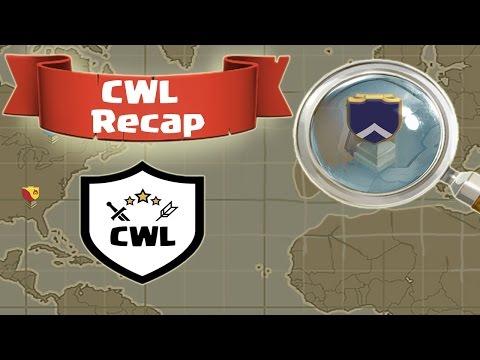 Dark Looters Vs Power CoC | CWL Recap [ENG]
