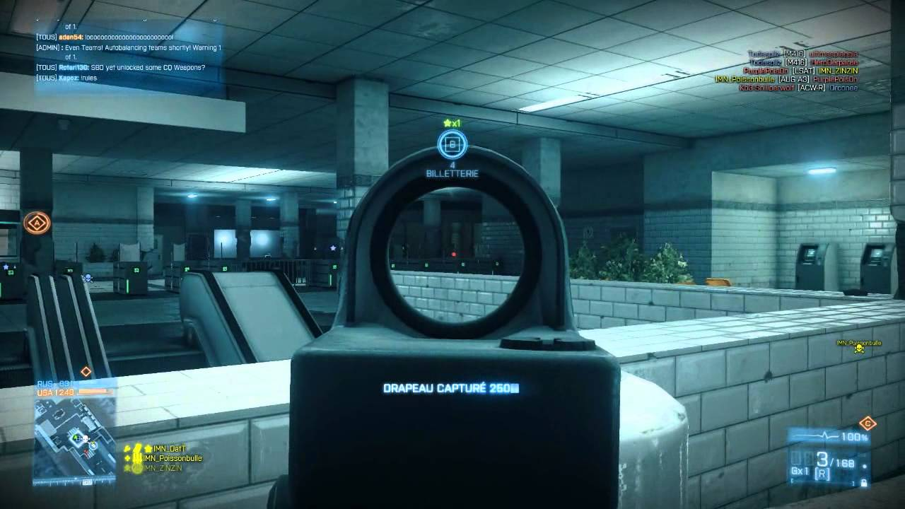 Poissonbulle Battlefield 3 Gameplay With Imn Team
