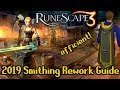 Runescape Smithing rework QuickGuide 2019