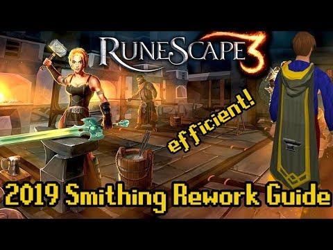 Runescape Smithing Rework QuickGuide 2019