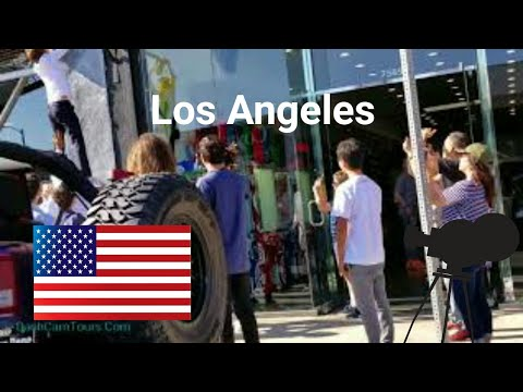Los Angeles Driving Tour: Saturday in Los Angeles