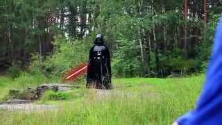 Darth Vader vs Jack Frost. Дарт Вейдер против Джека Фроста