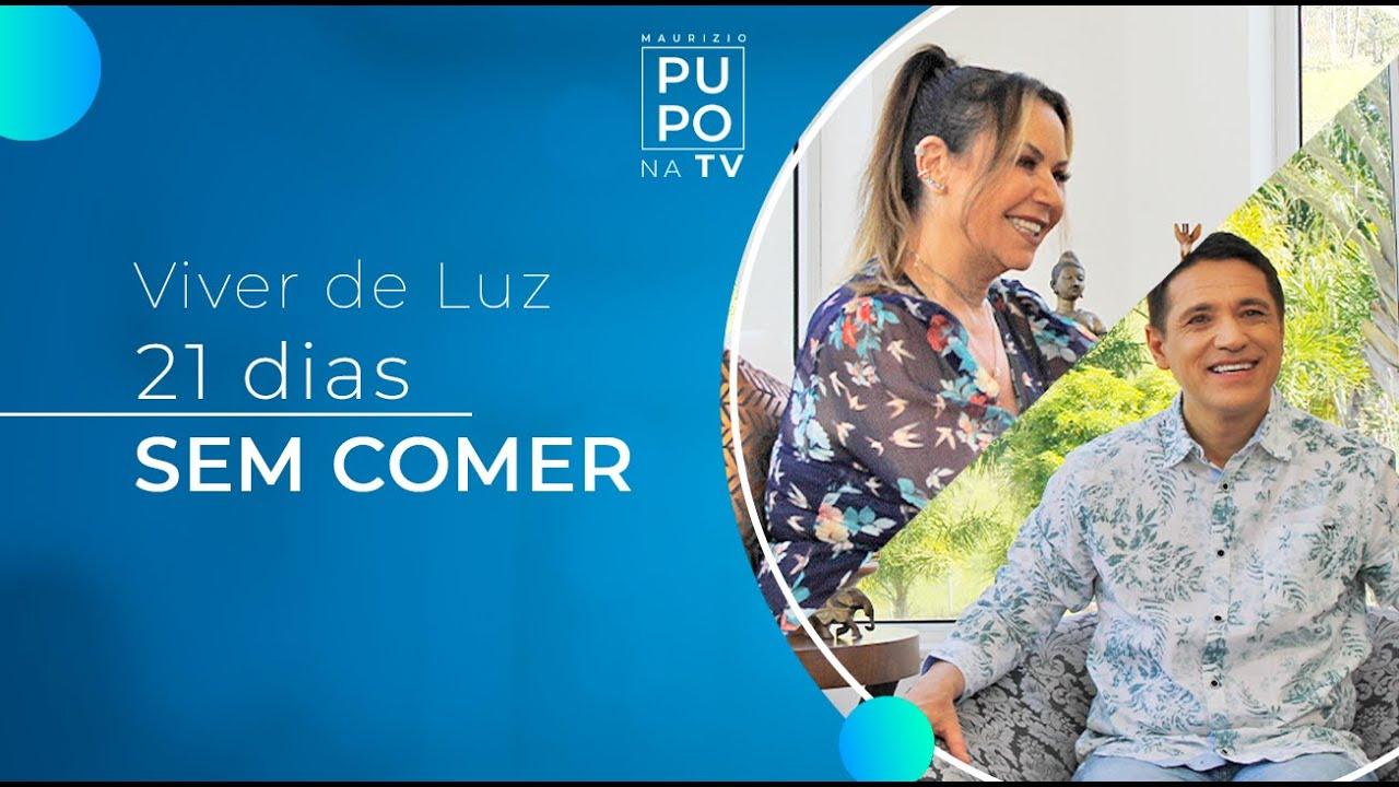 MAURIZIO PUPO NA TV - FLOR do SBT fala sobre sua experiência de ficar 21 dias sem comer!